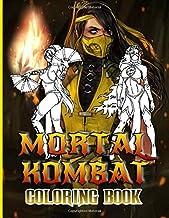 Mortal Kombat Coloring Book: Mortal Kombat Coloring Books For Adults