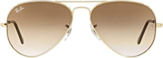 Ray-Ban Gradient Aviator Men's Sunglasses - (0RB3025I001/5162|62|Crystal Brown Gradient Color)