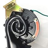 XUNLAN Durable Car Styling Rumoroso 300 Db 24 V Nero Electric Snail Horn Air Horn Purging Sound Adatto per Auto Moto Automobile Accessori per Auto Wearable