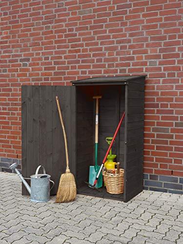 Promadino Geräteschrank Speyer anthrazit