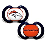 Baby Fanatic Denver Broncos 2 Piece Pacifier Set