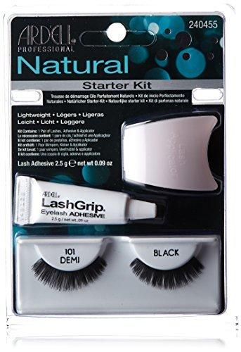 Ardell Natural Fake Eye Lashes, Starter Kit #101 by Ardell