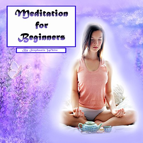 Meditation for Beginners: Easy Guide to Stress Relief and Peace of Mind audiobook cover art