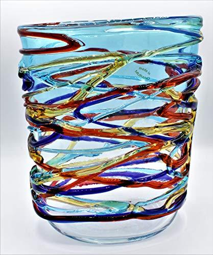 Vaas van Murano-glas, handgemaakt door ons