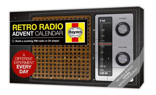 Haynes Build Your Own Retro Radio Advent Calendar