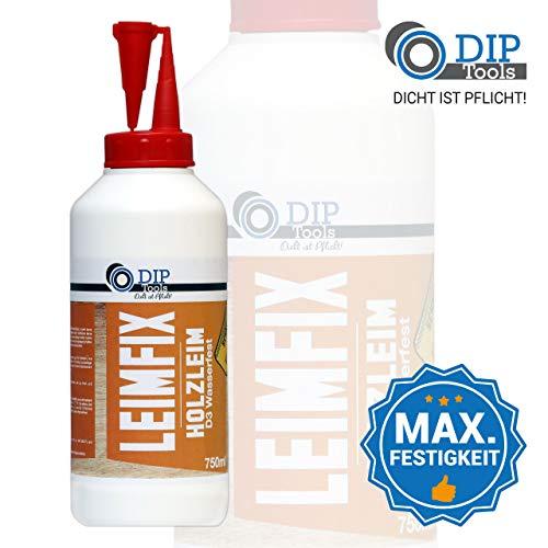 DIP-Tools LEIMFIX Cola Madera Impermeable con una Fuerza