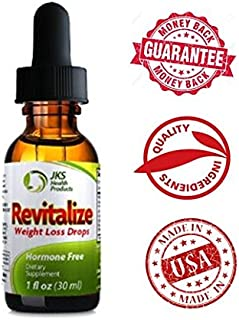 AM Complex - Revitalize Weight Loss Drops - Including ebook to Help with Your Success-African Mango Extract-Safe for Men and Women-1 Per Package -1oz