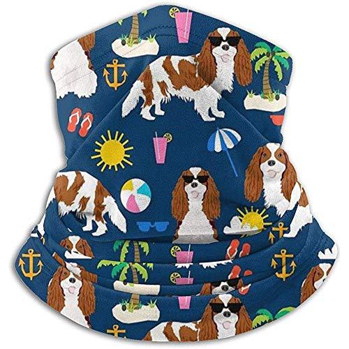 Regan Nehemiah zomervakantie, honden, strand, dag, nekwarmer, gamas, bivakmuts, skimasker, gezichtsmasker, hoed, hoofddeksels