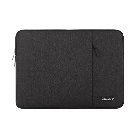 MOSISO Laptop Sleeve Bag Only Compatible with MacBook 12 inch with Retina Display A1534 2017/2016/2015 Release… 1 Internal dimensions: 12.4 x 0.79 x 9.45 inches (L x W x H); External dimensions: 13 x 0.79 x 10.04 inches (L x W x H). The front vertical side pocket dimensions: 9.25 x 9.25 inches (L x W). Made with high quality polyester material, a top opening zipper gliding smoothly and allows convenient access to your device. Slim and lightweight, does not bulk your device up and can easily slide into your briefcase, backpack or other bag. Extra pocket in front provides enough space to keep MacBook mouse, earphone, pens and notepads, offering added convenience.