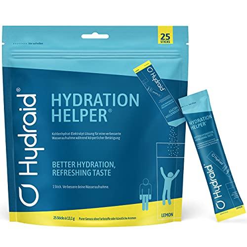 Hydraid® Hydration Helper I Elektrolyt - Kohlenhydrat Pulver I verbesserte Wasseraufnahme I 25 Stück I Sportgetränk I Kalorienarm I Erfrischend I Made in Germany