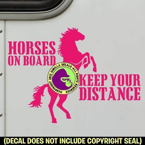 REARING HORSE Vinyl Decal Sticker C