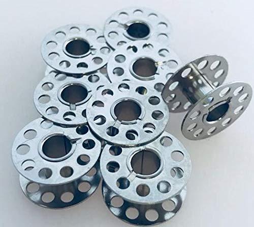 Nähmaschinenzubehör24 8 bobinas (CB) de Metal para máquinas de ...