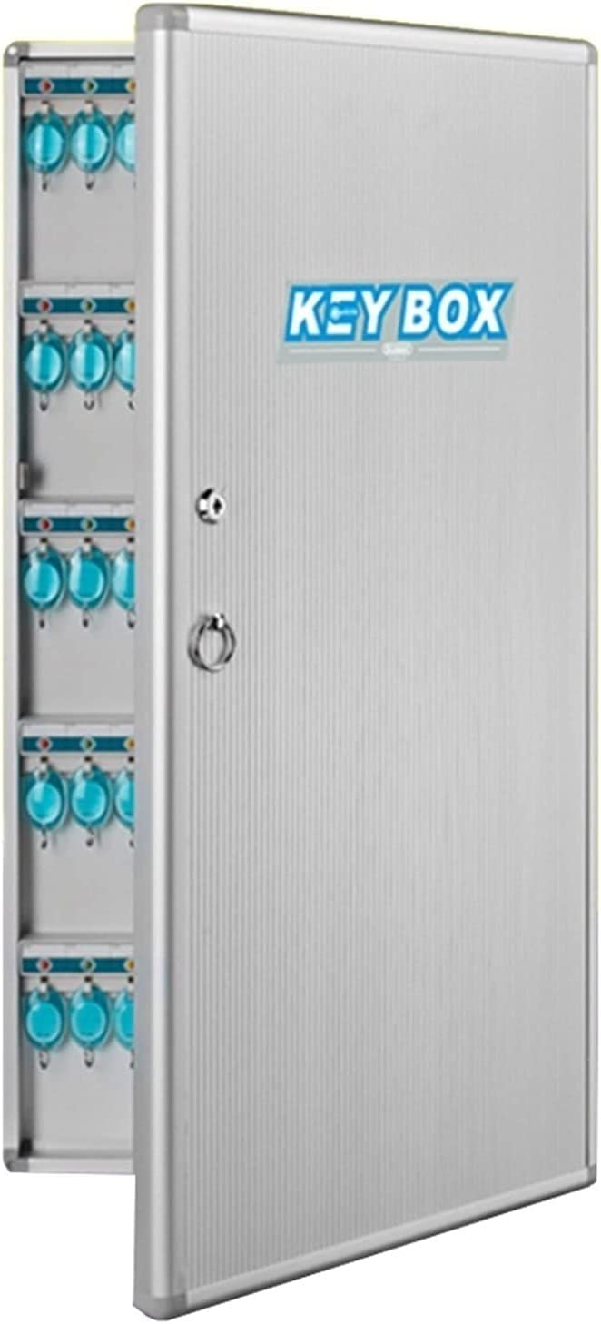 LICGHONG Key Cabinets 48 Keys Loc Safe Recommendation Superior Mounted Wall Box