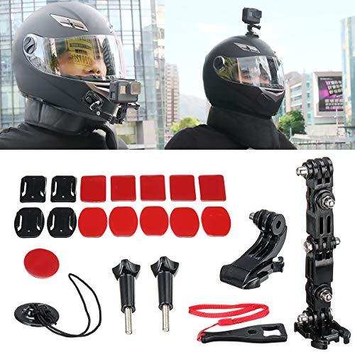 Viviance accessoires-kit helm pijnboom verstelbare arm houder voor GoPro 6/5/4 motorfiets