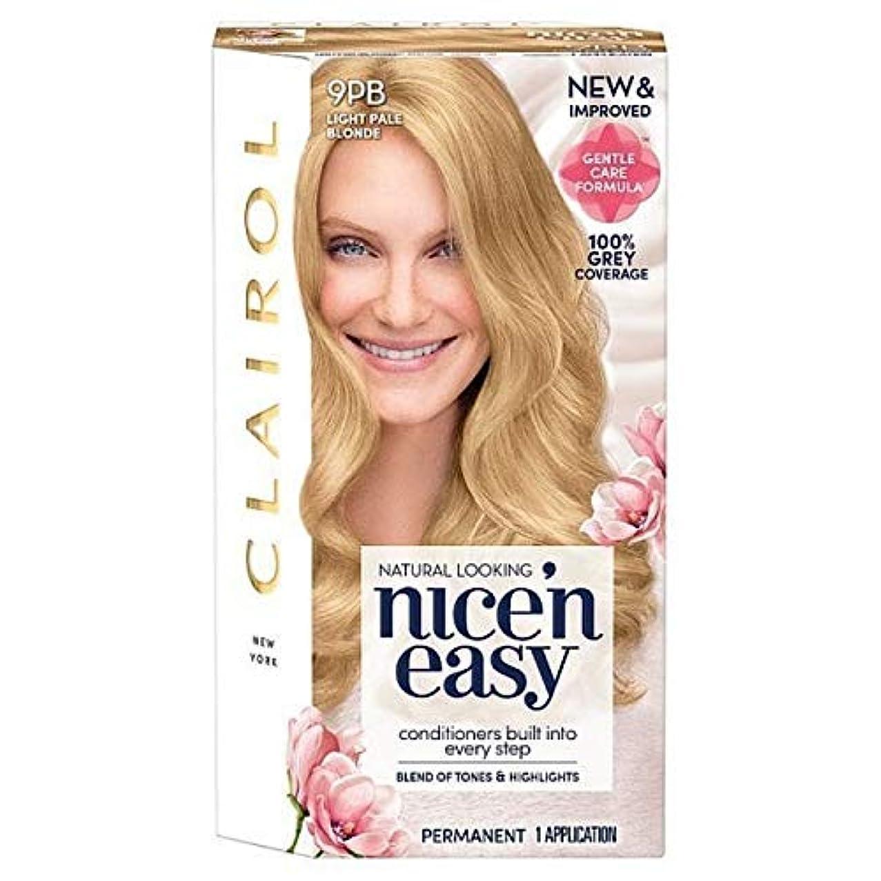 本物のぼろ代替案[Nice'n Easy] Nice'N簡単9Pb光淡いブロンド - Nice'n Easy 9Pb Light Pale Blonde [並行輸入品]