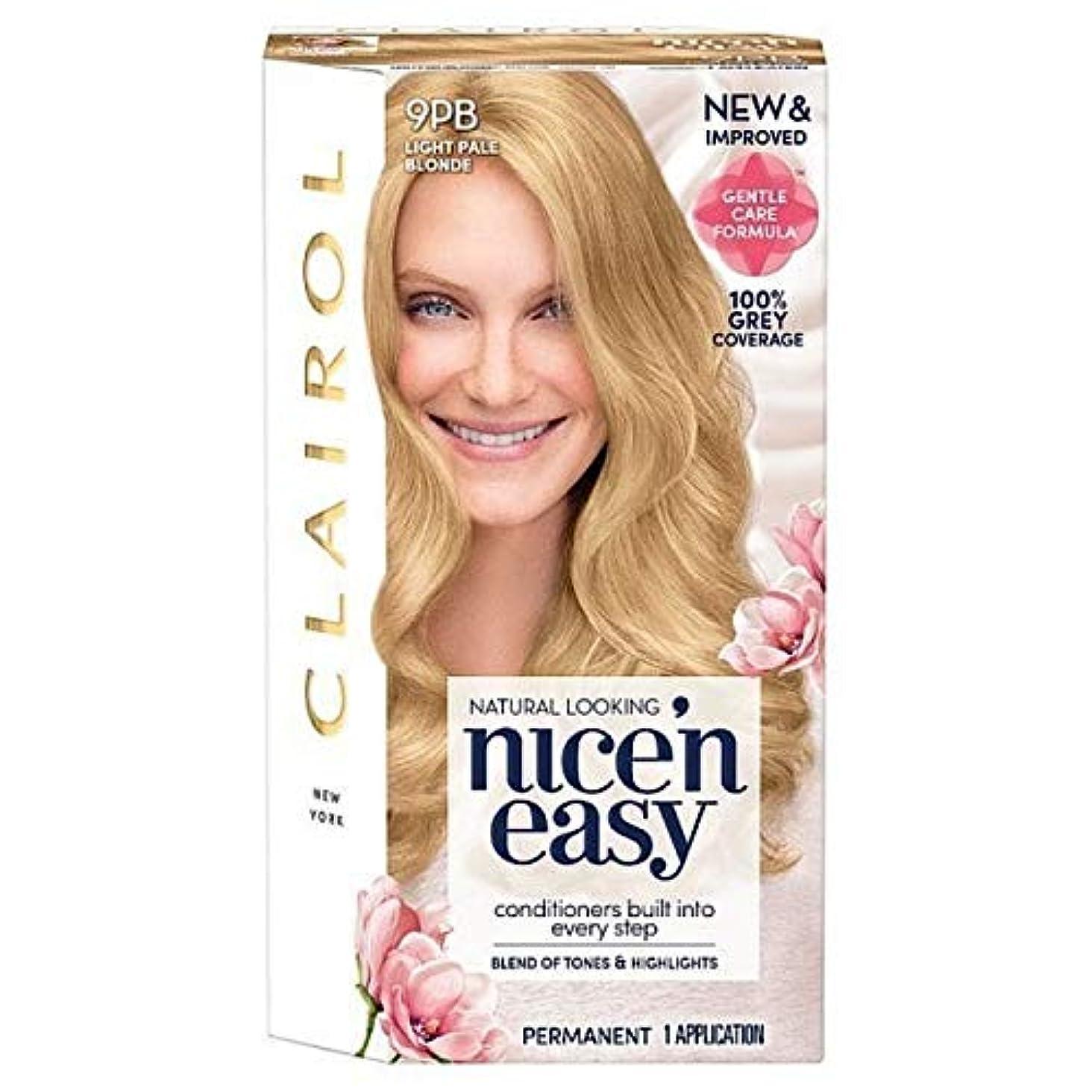確かなアーサーコナンドイル作業[Nice'n Easy] Nice'N簡単9Pb光淡いブロンド - Nice'n Easy 9Pb Light Pale Blonde [並行輸入品]