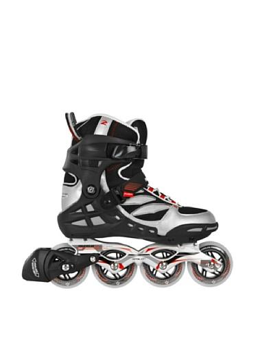 Powerslide Herren Inline Skate Phuzion Epsilon Men, schwarz/rot, 940135/40