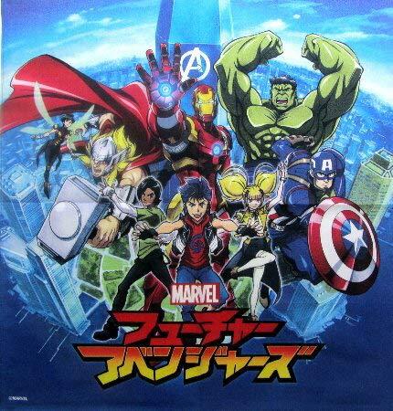 キャラクター ランチクロス アメリカン コミックヒーロー (フューチャーアベンジャーズ)