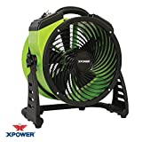 XPOWER FC-200 Heavy Duty Whole Room Air Circulator - Green