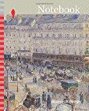 Notebook: The Place du Havre, Paris, 1893, Camille Pissarro, French, 1830-1903, France, Oil on canvas