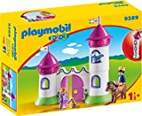 PLAYMOBIL- 1.2.3 Castillo con Torre Apilable Juguete, Multicolor...
