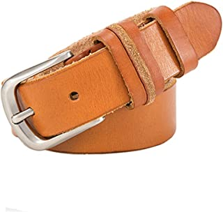 Women's Comfortable Belt Women's Brown Belt Formal Casual Clothing Accessories Adjustable Leather Belt for Female for Tights Leggings Jeans Uniforms