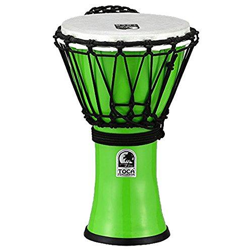 "TOCA Percussion トカ ジャンベFreestyleII Djembe 7""-Pastel Green/【国内正規品】TFCDJ-7PG"