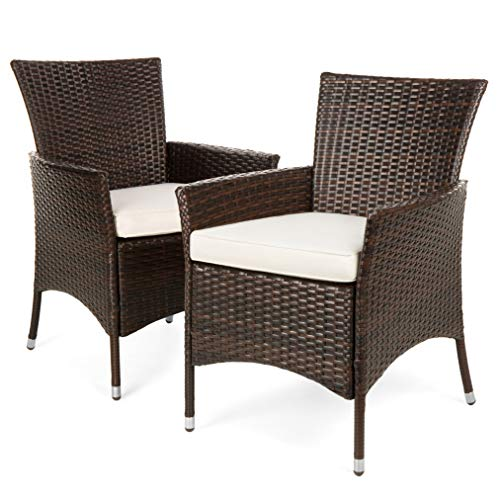 Best Choice Products Set of 2 Modern Contemporary Wicker