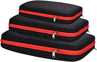 Packing Cubes Travel Organizer Compression Bag Hard Side Easier Pack Fit in Carry on Suitcase Portable Large Capacity Sort...