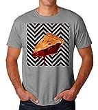 Twin Peaks Pie Artwork Red Men's T-Shirt Hombre Camiseta Medium