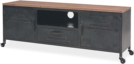 Nishore Mesa para TV con 1 Cajón, 1 Estante y 2 Armarios