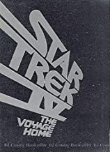 Star Trek IV the Voyage Home Book and Tape Cassette Read Along