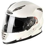 187158 - Nitro NRS-01 Uno DVS Motorcycle Helmet M Satin White (14)