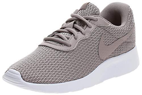 Nike Damen WMNS Tanjun Leichtathletikschuhe, Mehrfarbig (Pumice/Pumice/Dark Citron 000), 41 EU