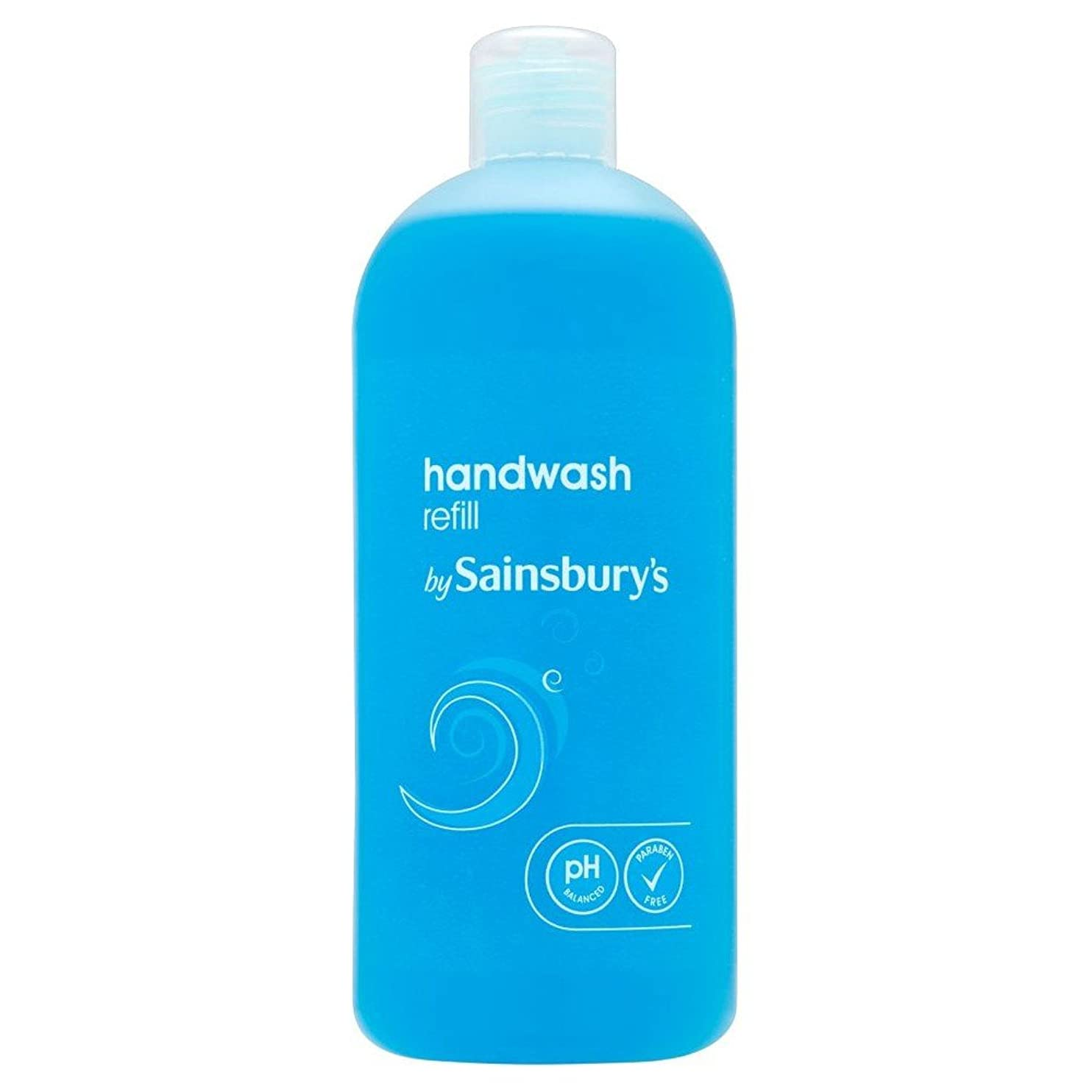 啓示フェンスに向かってSainsbury's Handwash, Blue Refill 500ml (Pack of 6) - (Sainsbury's) 手洗い、青のリフィル500ミリリットル (x6) [並行輸入品]