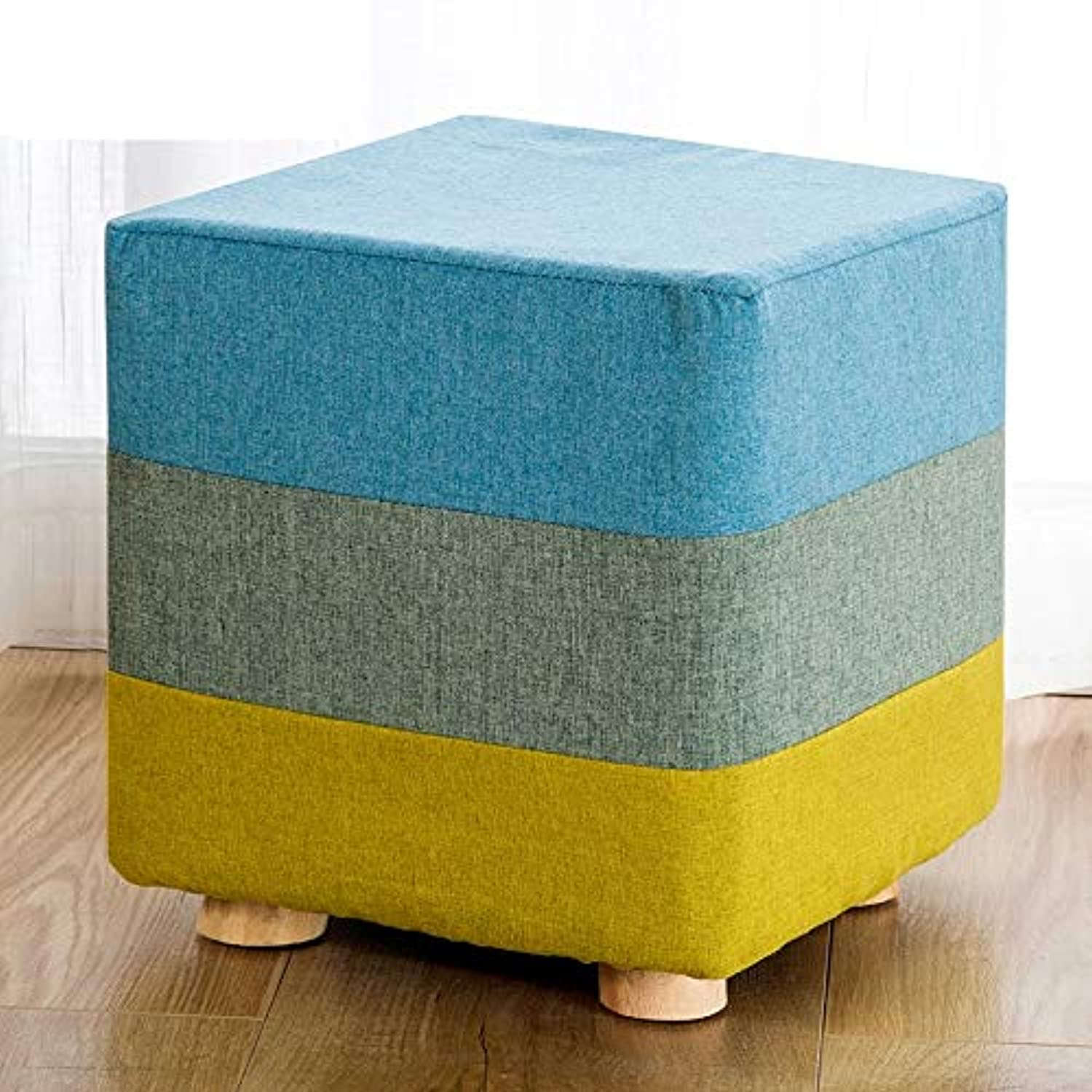 SYFO Simple shoes Bench, Home Fabric Bench, Fashion Sofa Bench, Bed End Stool, Creative Small Bench Stool (Size   Rectangle)