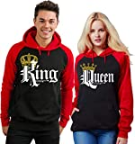 Couples Hoodies Set King and Queen Matching Outfits His & Hers