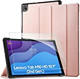 EasyAcc Custodia Cover Compatibile con Lenovo Tab M10 HD (2nd Gen) 10.1 con Vetro Temperato Ultra...