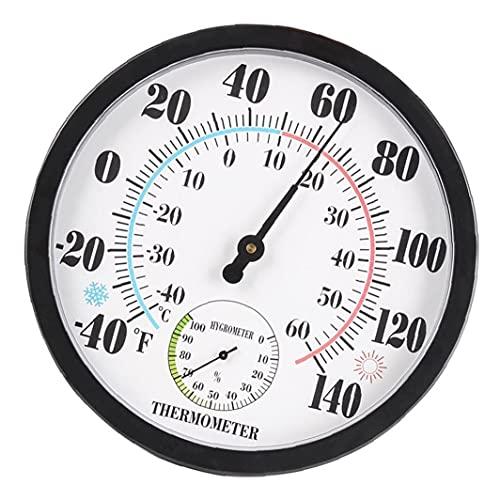 Yililay Medidor de Humedad termómetro higrómetro Pantalla Pointer Pointer Psicrómetro Temperatura para Greenhouse Office Estilo 2