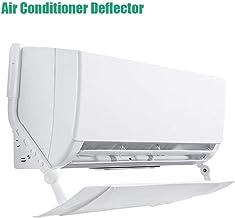 Parabrisas Anti-Aire Acondicionado Adecuado para El Hogar Y La Oficina Blanco LINGKY Deflector Retr/áctil del Aire Acondicionado Spoiler del Aire Acondicionado Retr/áctil con Direcci/ón del Viento