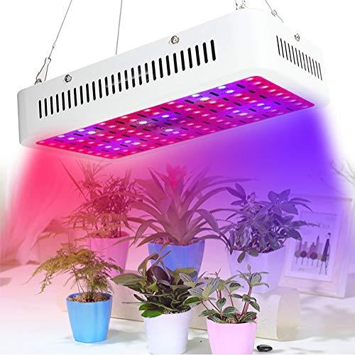 XZYP 900W Wachsen Licht, Led Blumenzwiebel Full Spectrum Wachsen Licht Für Zimmerpflanzen Gemüse, LED-Anlage Glühlampe Für Indoor Garten Gewächshaus Und Bio-Boden (90LED)