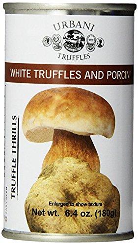 Urbani Truffles Truffle Thrills, White Truffles and Porcini Sauce - 2 pcs. x 6.4 Oz Cans