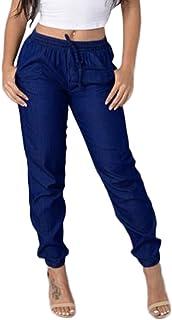 Uusollecy Jeans Skinny Elasticizzati Strappati da Donna