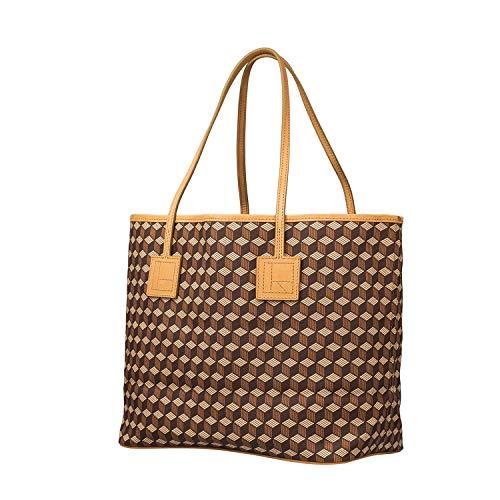 RELIQUIAE ESPAÑA Bolso Shopping M Color Natural. Bolso de Hombro de Mujer. Bolso Exclusivo Diseño Elegante