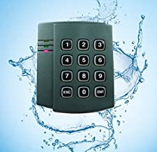 Outdoor Wiegand 26 125KHz RFID EM ID Card Waterproof Keypad Reader Connect for Access Control Panel