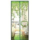 Cheerfulus, zanzariera magnetica da porta, Green, 90*210