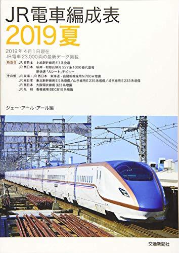 JR電車編成表2019夏