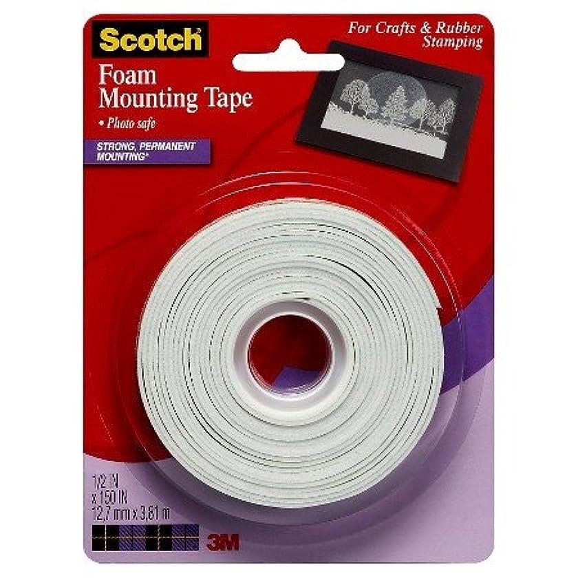 SCOTCH None Tape Craft Foam Mtg 1/2X150