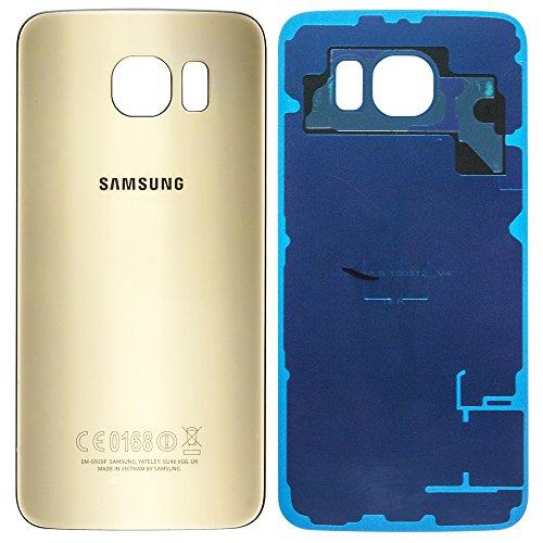 AGI Original Akkufachdeckel Gold für Samsung G920F Galaxy S6 Original