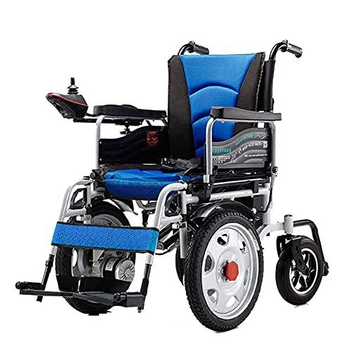 Silla de ruedas eléctrica plegable Silla de ruedas eléctrica para discapacitados, todo...